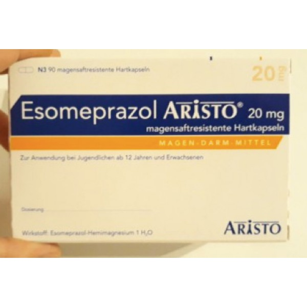 Эзомепразол Esomeprazol  20MG/90 шт