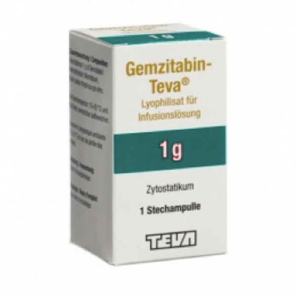 Гемцитабин Gemcitabin GRY 1000MG/1 Шт