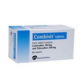 Купить Комбивир Combivir 150 мг/300 мг/ 60 таблеток в Москве