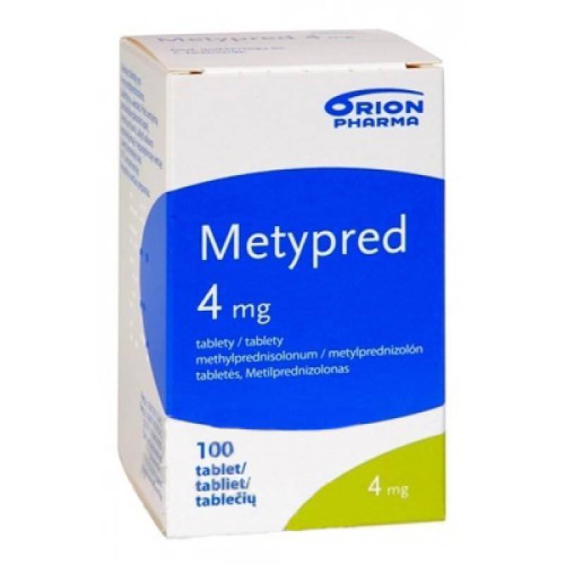Метипред Metypred Forte 1000MG  - 5 Шт