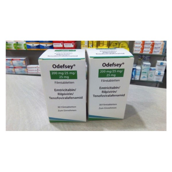 Одефсей Odefsey 200 MG/25MG/25MG - 3Х30 Шт
