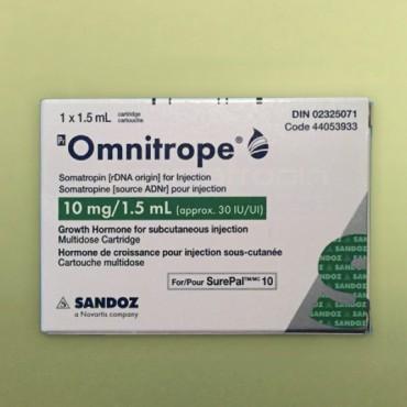 Купить Омнитроп Omnitrope 10MG/1.5ML/10Шт в Москве