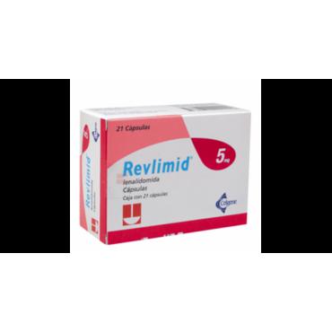 Купить Ревлимид Revlimid 5 мг/21 капсул в Москве