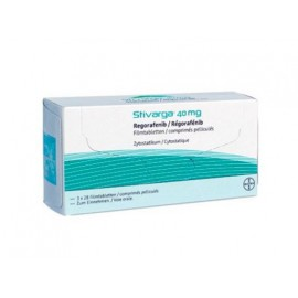 Купить Стиварга Stivarga (Регорафениб) 3х28 таблеток в Москве