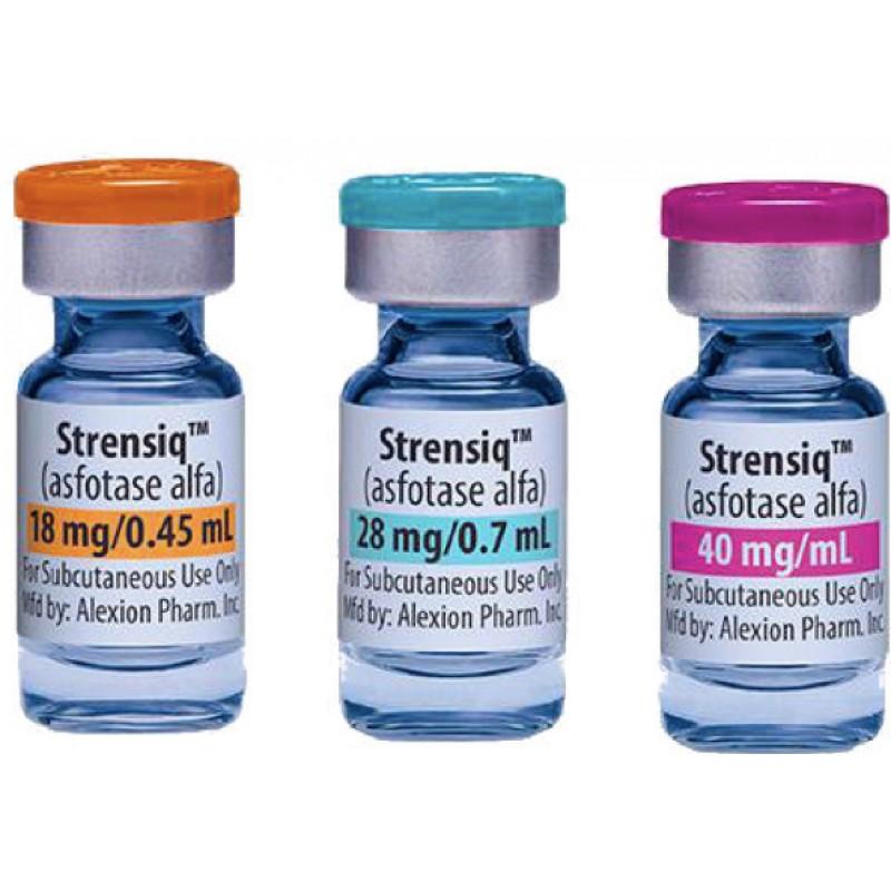 Стренсик Strensiq 40MG/ML 18MG** 12 штX0.45 ml