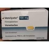 Венклекста Venclyxto 100MG/112 шт