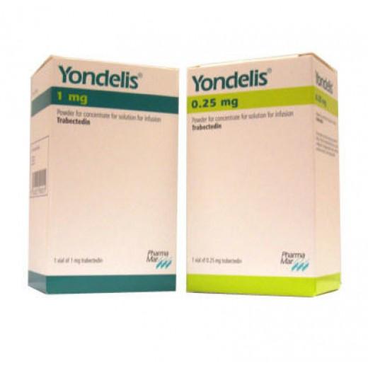Купить Йонделис Yondelis  0.25 мг/1 флакон в Москве