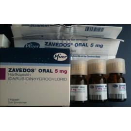 Купить Заведос Zavedos 25 мг/3 капсулы в Москве