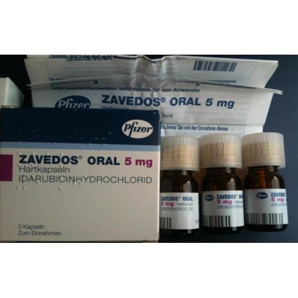 Заведос Zavedos 25 мг/3 капсулы