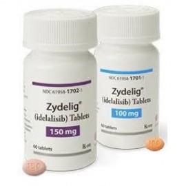 Купить Иделалисиб Idelalisib (Зиделиг Zydelig) 100 мг/60 таблеток в Москве