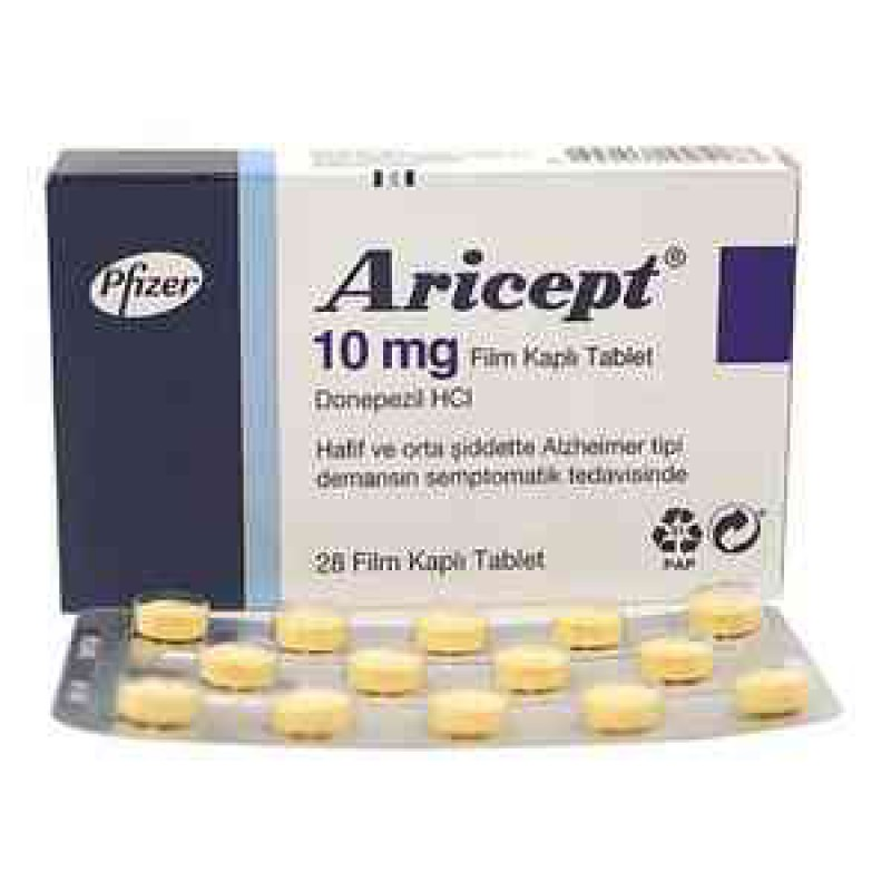 Арисепт Aricept 98X10MG (Donepezil)