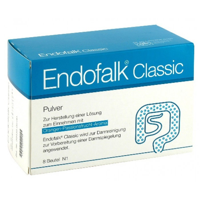 Эндофальк Endofalk Classic Pulver Beutel 8X72 St