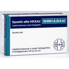 Купить Эпоэтин Альфа 20000 (Epoetin Alfa 20000) 6X20.000 I.E./0,5ml в Москве