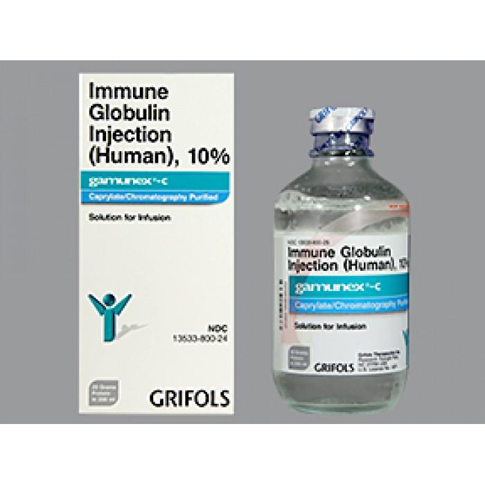ГАМУНЕКС С GAMUNEX-C %10 200 ML IV (Immunoglobulin ) 1шт.