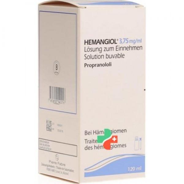 Гемангиол Hemangiol 3,75мг/120мл