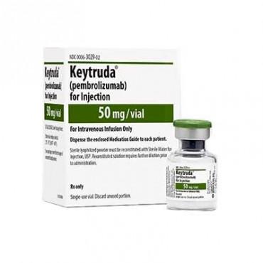 Купить Кейтруда Keytruda (Пембролизумаб / Pembrolizumab) 50 мг/1 флакон в Москве