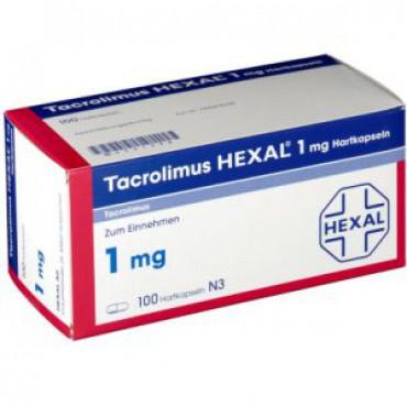 Купить Такролимус Tacrolimus HEXAL 1MG/100 шт в Москве